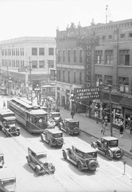 63rd and Halsted, 1929
